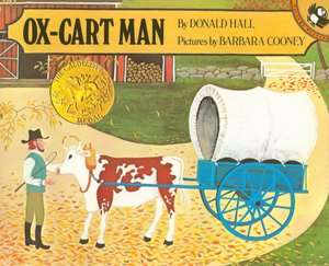 ox cart man donald hall paperback $ 6 64 buy