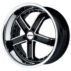 Petrol Wheels Fusion Gloss Black Machined Wheel (18x8