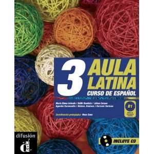 Aula Latina 3. Libro del alumno. B1. Libro + CD (French