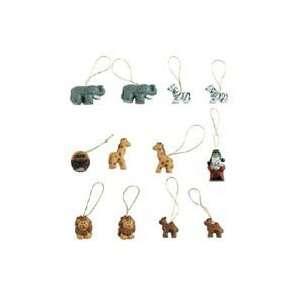 Set of 24 1 Noahs Ark Animals Christmas Ornament Set
