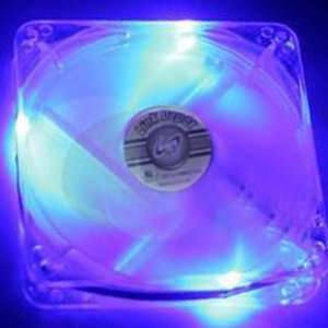 Link Depot Fan Led Fan 80Mm Blue Electronics