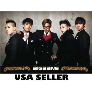 Bigbang Korean boy band (sent FROM USA in PVC pipe): Everything Else