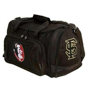Florida State Seminoles Black Flyby Duffle Bag