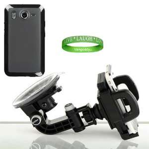 Android Phone + an HTC Inspire Black TPU Skin + a Live * Laugh * Love