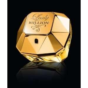Lady Million Perfume By Paco Rabanne for Women 1.7 Oz Eau