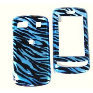 New Blue Black Zebra Stripe Pattern Color Design Lg Xenon