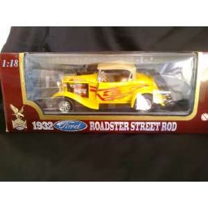 1932 FORD ROADSTER STREET ROD 118 SCALE Toys & Games