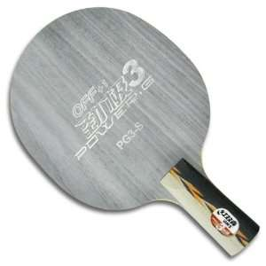 DHS PowerG III Table Tennis Blade (Penhold) Sports