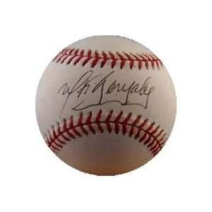 Wiki Gonzalez autographed Baseball: Sports & Outdoors