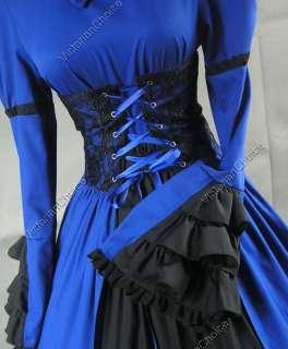 Victorian Corset Gothic Lolita Dress Ball Gown 068 XL