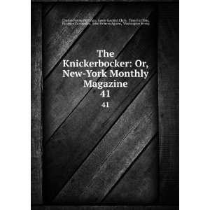 , John Holmes Agnew, Washington Irving Charles Fenno Hoffman: Books