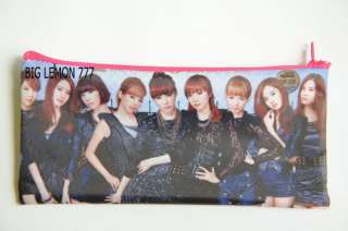 SNSD GIRLS GENERATION Zipper Pencil Case Bag Pouch K1
