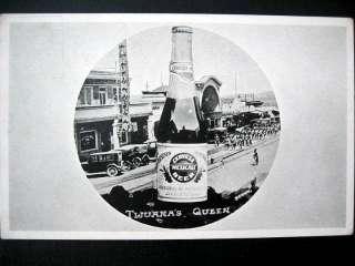 Mexico~1925 TIJUANA~ CERVEZA MEXICALI BEER ~ QUEEN