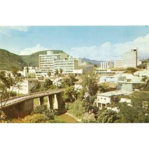 Postcard Partial View of Tegucigalpa Honduras   Central America