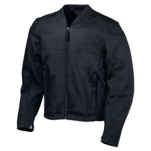 ICON ACCELERANT STEALTH LEATHER MOTORCYCLE JACKET   2X