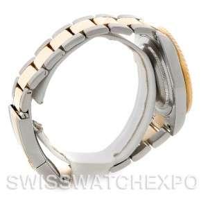 Rolex GMT Master II Mens 18k Gold Steel Watch 116713