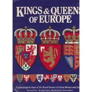 Kings and Queens of Europe (9780241127407) Anne Taute Books