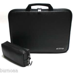 Laptop Netbook Case Faux leather Bag Sleeve for Toshiba NB505 10.1