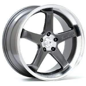 19x8.5 Axis Hiro (Anthracite w/ Polished Lip) Wheels/Rims