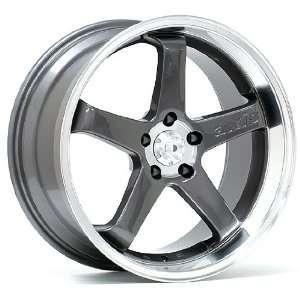 19x8.5 Axis Hiro (Anthracite w/ Polished Lip) Wheels/Rims