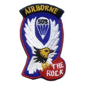 503rd Airborne 3 Patch Office Products