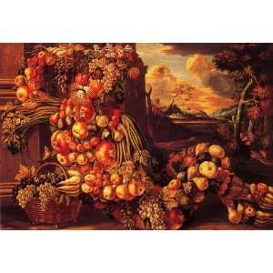 Hand Made Oil Reproduction   Giuseppe Arcimboldo   32 x 22 inches