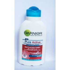 Garnier Pure Active Multi Action Toner :150ml: Beauty