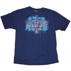 New York Rangers RBK Burner T Shirt: Sports & Outdoors