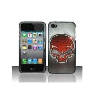SKULL STEEL Design Protector Hard Cover Case W/SCREEN PROTECTOR FILM