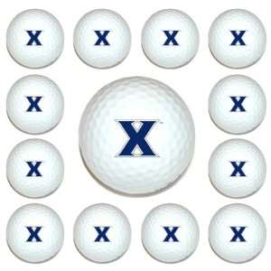 Xavier Musketeers Team Logo Golf Ball Dozen Pack   Golf