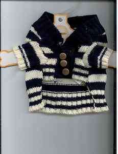 Sweater  Black and White Stripped   Size Medium fits 14 17 (2 1