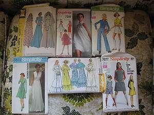 YOUR CHOICE MISSES RETRO PATTERNS WEDDING DRESS, PANTS, SHORTS, TOPS