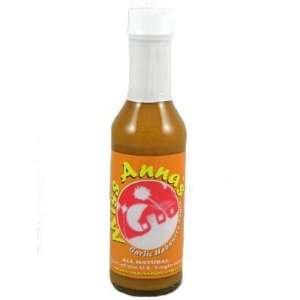 Miss Annas Garlic Habanero Hot Sauce  Grocery & Gourmet