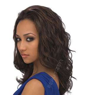 Outre Quick Weave Long Loose Curl Half Wig SABINA