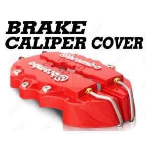 DODGE CHALLENGER RED BREMBO  BRAKE CALIPER COVER KIT FRONT & REAR