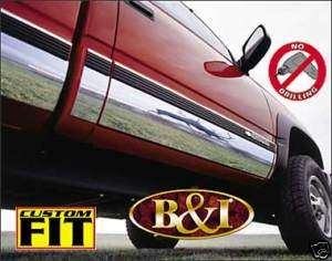 CHEVY SILVERADO CHROME ROCKER PANELS 1988 1998