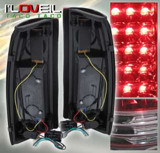 1988 1998 CHEVY C10 C/K GMC PICK UP 1500 2500 3500 34 LED ALL RED TAIL