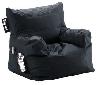 Big Joe Bean Bag Chair with Side Cup holder & Side Pocket Available in
