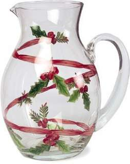Block Large POINSETTA Christmas Serving Bowl 12 New |
