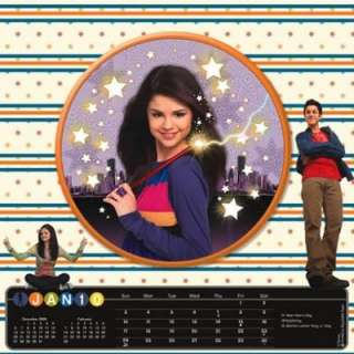 Waverly Place Selena Gomez Calendar 2010 3D Magic Effects RARE