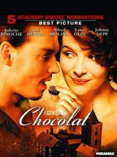 Chocolat: Juliette Binoche, Judi Dench, Alfred Molina