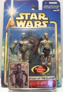 2002 Star Wars Saga Collection 1 #4 C 3PO protocol droid