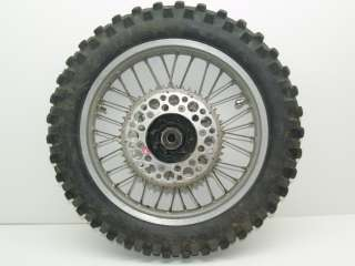 00 Honda XR650R XR650 rear wheel rim & tire