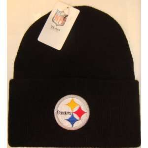 Pittsburgh Steelers NFL Long Beanie Knit Cap Caps Hat Hats Reebok Team