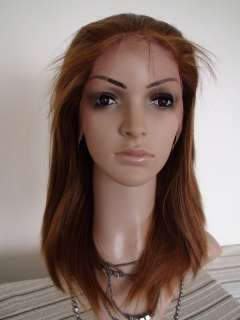 1227# silky straight synthetic lace front wig high quality can be