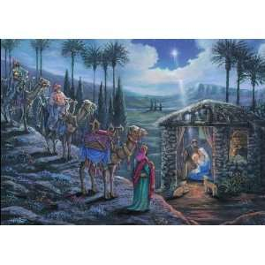 National Geographic Wise Men Religious Christmas Card