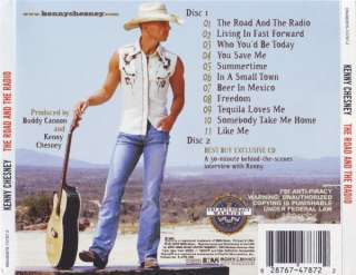 KENNY CHESNEY The Road And The Radio 2xCD 2005 Best Buy Exclusive CD
