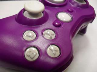 PURPLE XBOX 360 MODDED CONTROLLER RAPID FIRE COD7 MOD