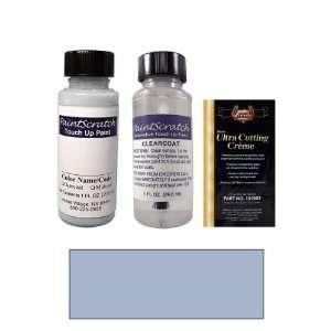 1 Oz. Light Spectrum Blue Metallic Paint Bottle Kit for