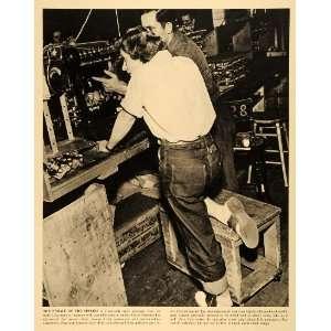 1942 Prin Women Workforce Culer Hammer Milwaukee Wisconsin